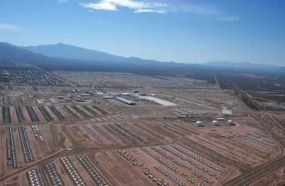 Arizona Air Force Base >> Davis Monthan Afb Tucson Az Largest Aircraft Boneyard In
