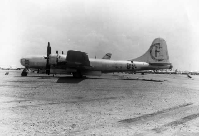 "Boeing B-29 ""Bockscar"" in storage at Davis-Monthan AFB"