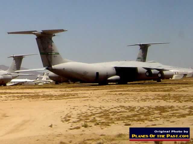 Davis-Monthan AFB, Tucson, AZ, largest aircraft boneyard in the