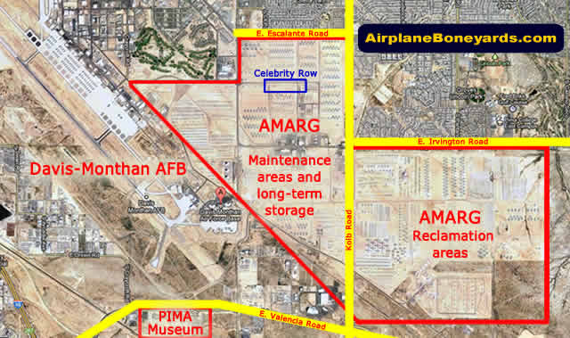 Map Of Germany Us Air Force Bases.Davis Monthan Afb Tucson Az Largest Aircraft Boneyard In The